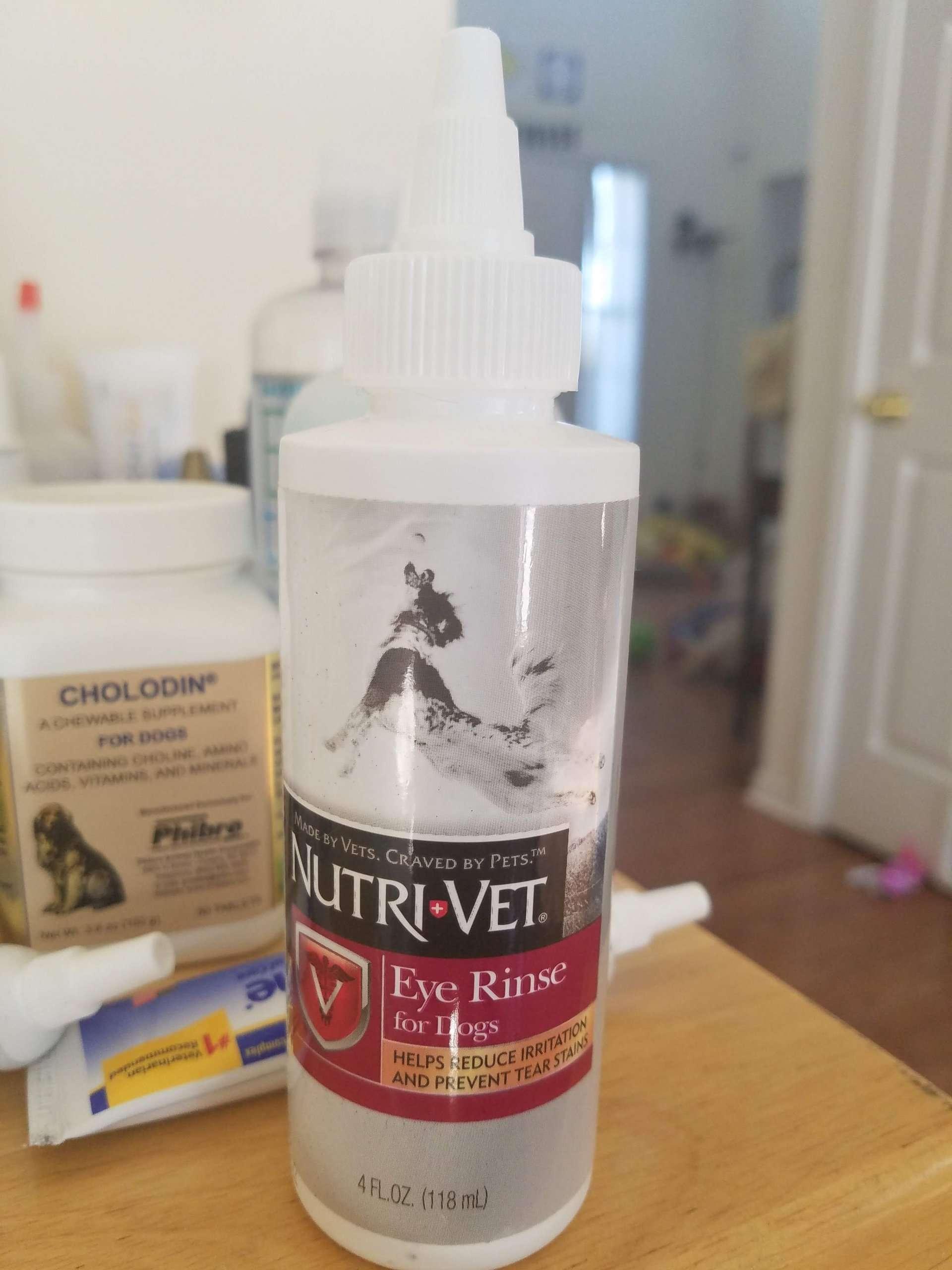 Nutri-Vet Dog Eye Rinse Shih Tzu Rescue